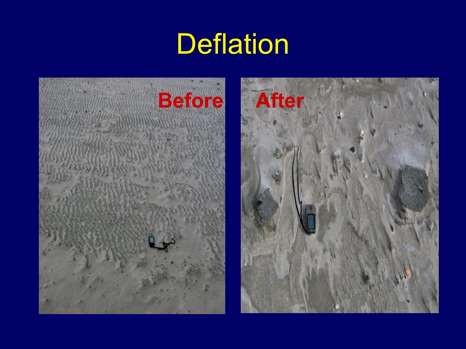 Deflation Before After