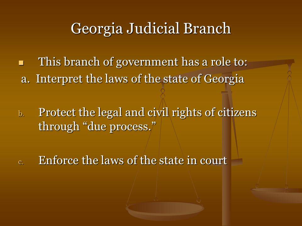 Georgia Judicial Branch