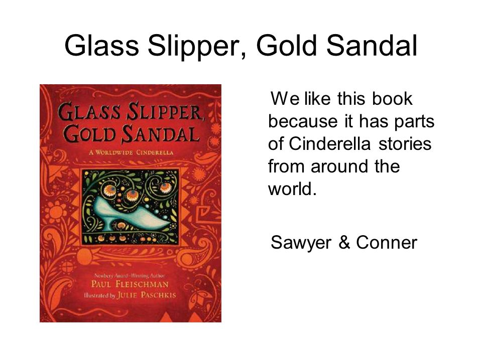 Glass Slipper, Gold Sandal