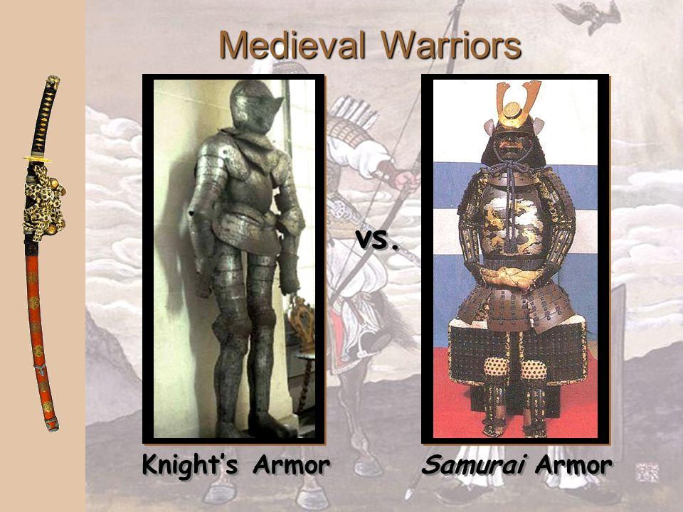 Medieval Warriors vs. Knight's Armor Samurai Armor