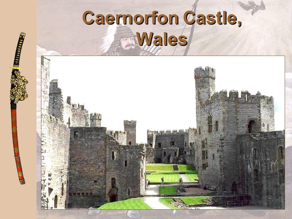 Caernorfon Castle, Wales