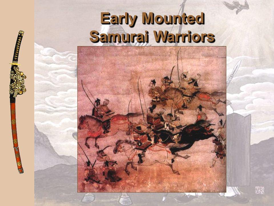 Early Mounted Samurai Warriors