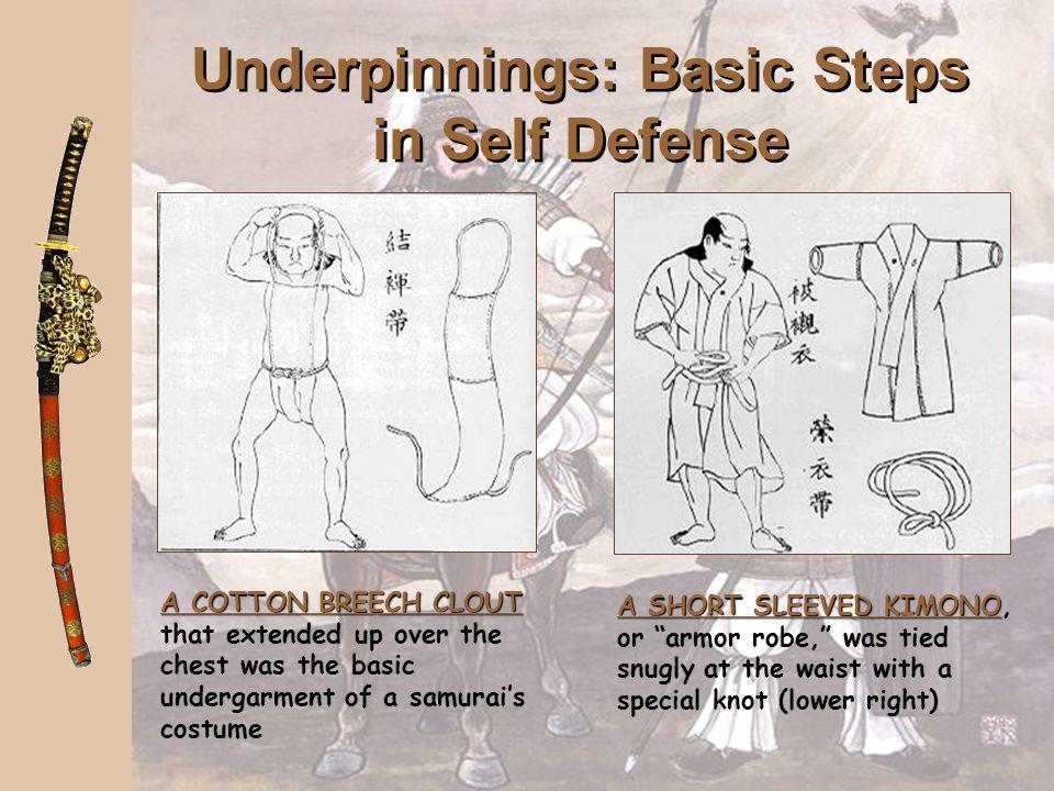 Underpinnings: Basic Steps in Self Defense