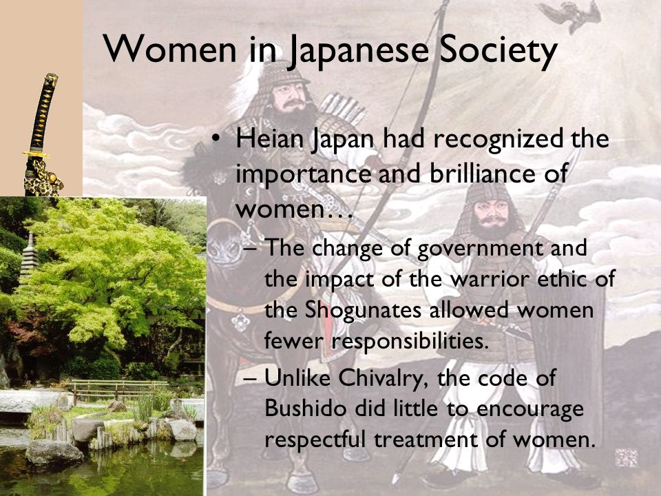 Women in Japanese Society