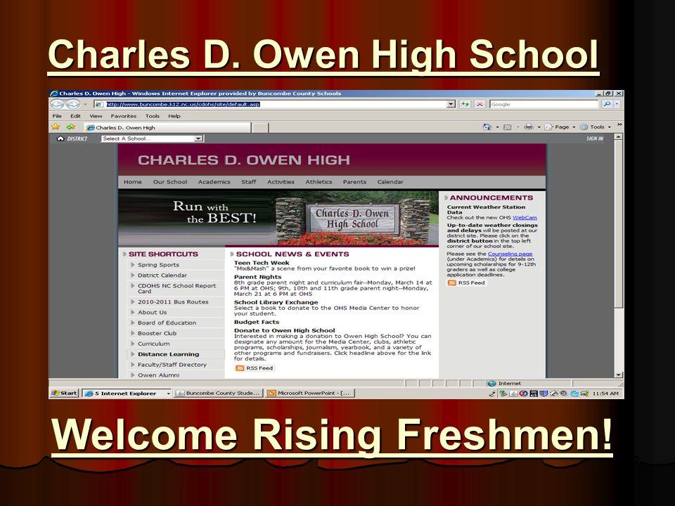 Charles D. Owen High School