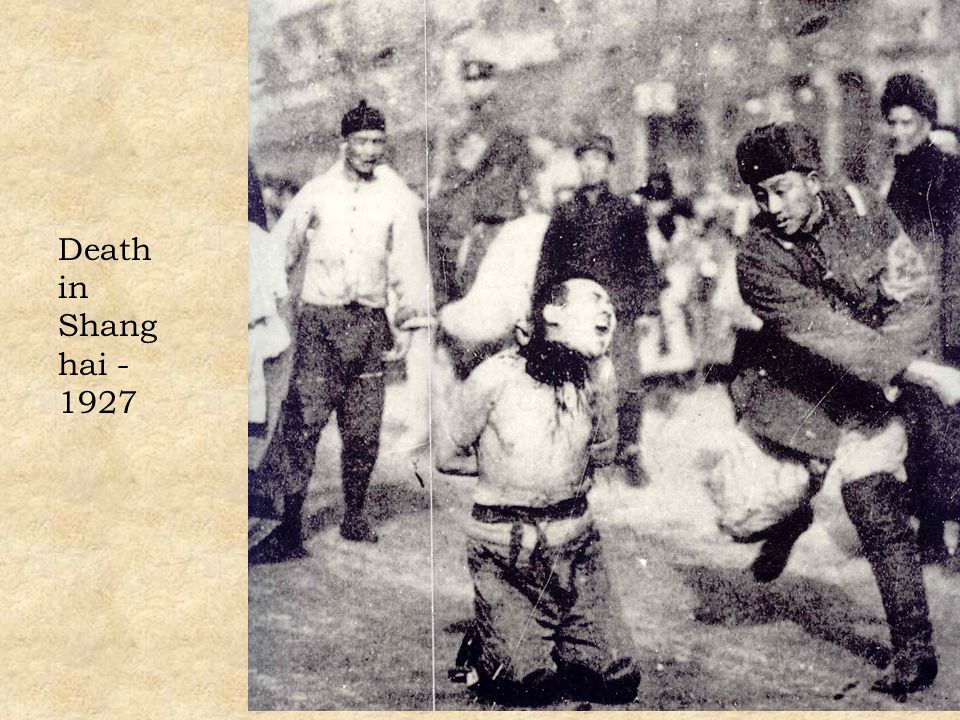 Death in Shanghai - 1927