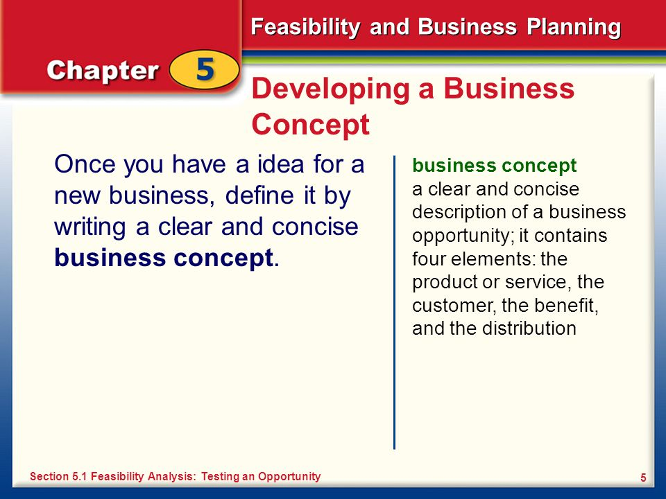 Developing a Business Concept