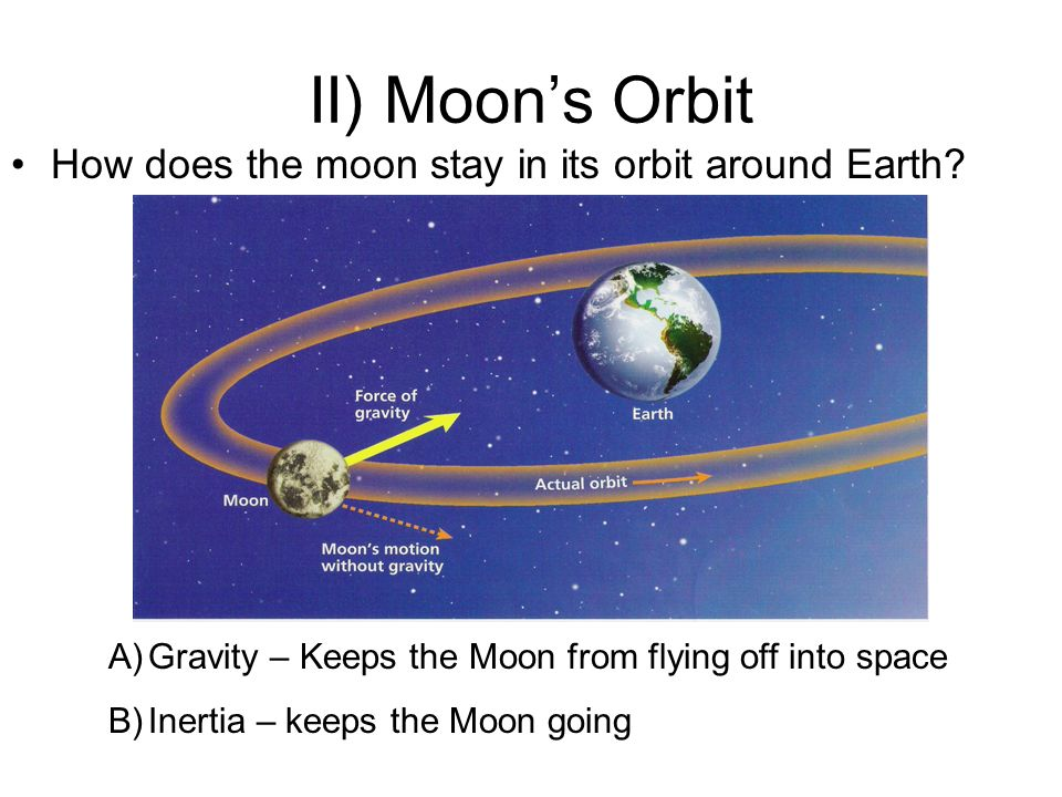 The Earth and the Moon. - ppt download