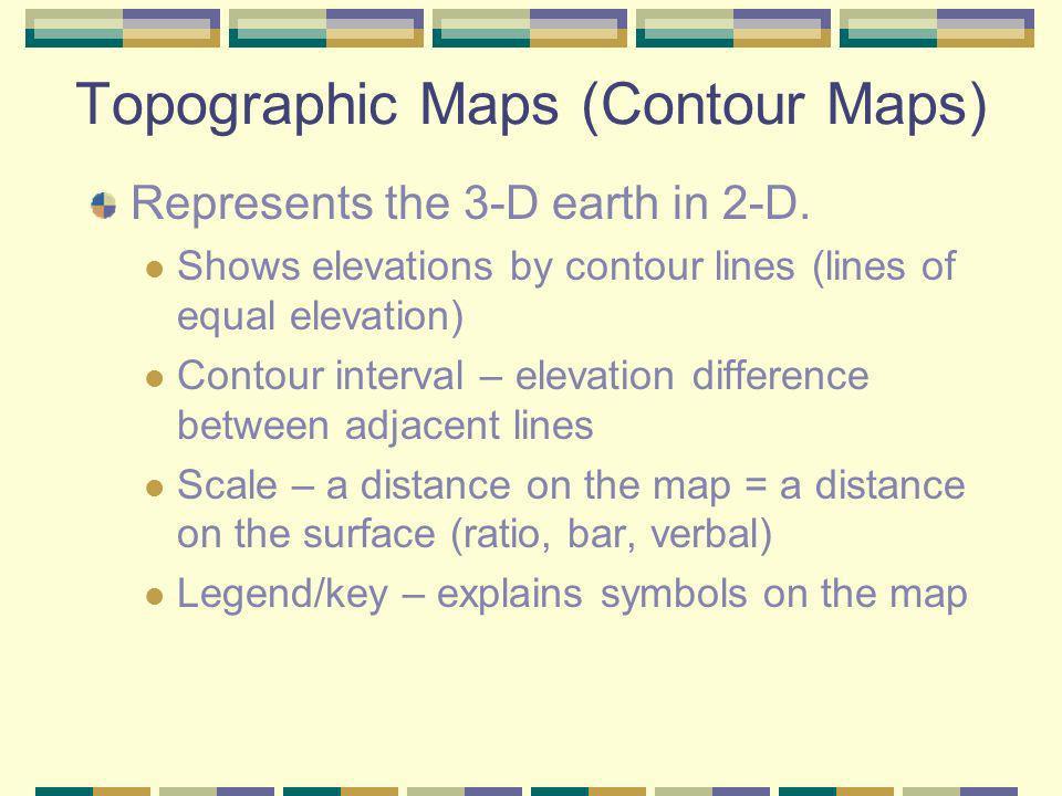 Topographic Maps (Contour Maps)