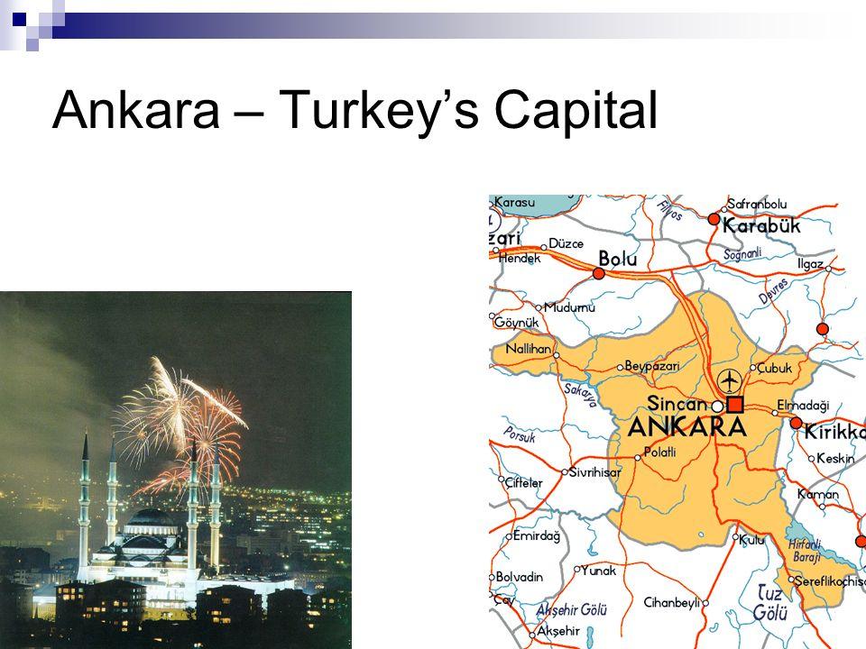 Ankara – Turkey's Capital