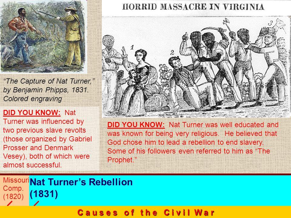Nat Turner's Rebellion (1831)