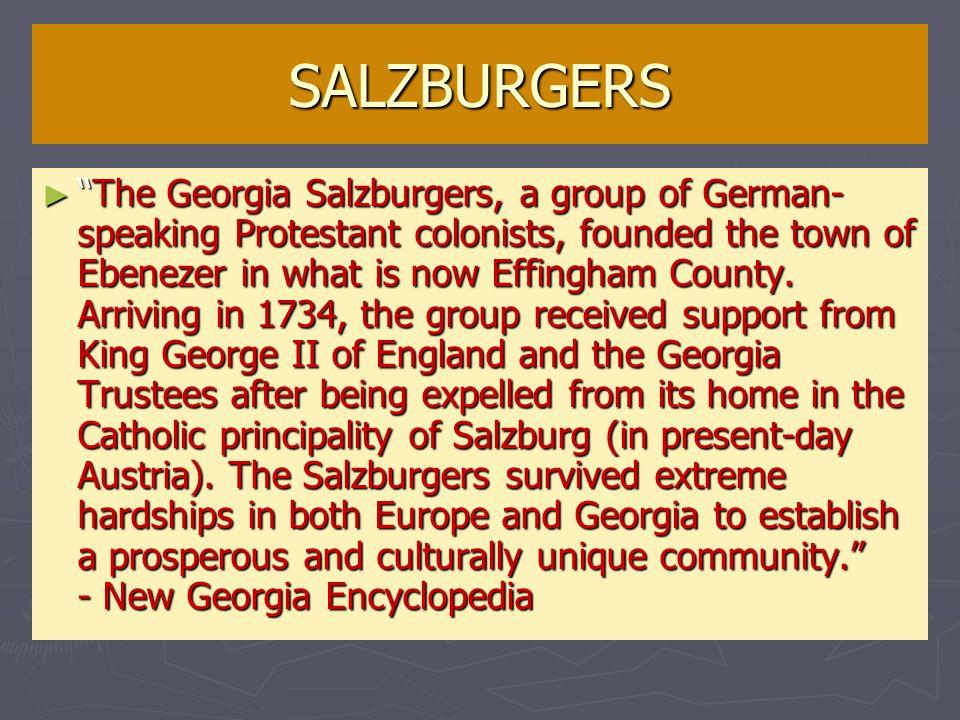 SALZBURGERS