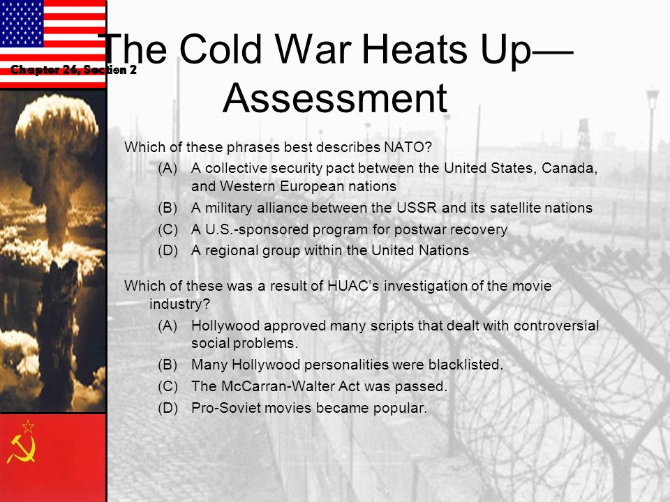 The Cold War Heats Up—Assessment