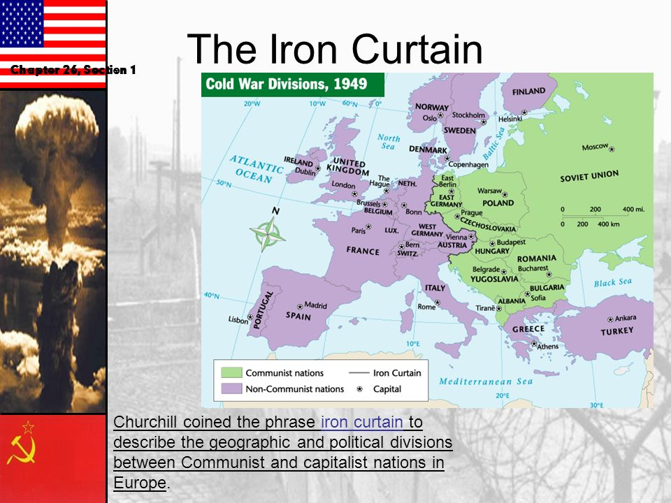 The Iron Curtain Chapter 26, Section 1.