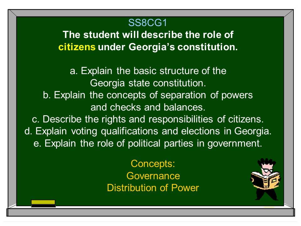 Concepts: Governance Distribution of Power