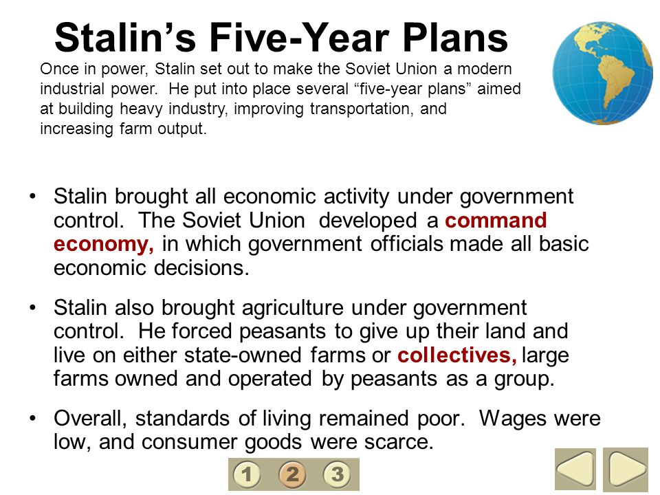 Stalin's Five-Year Plans