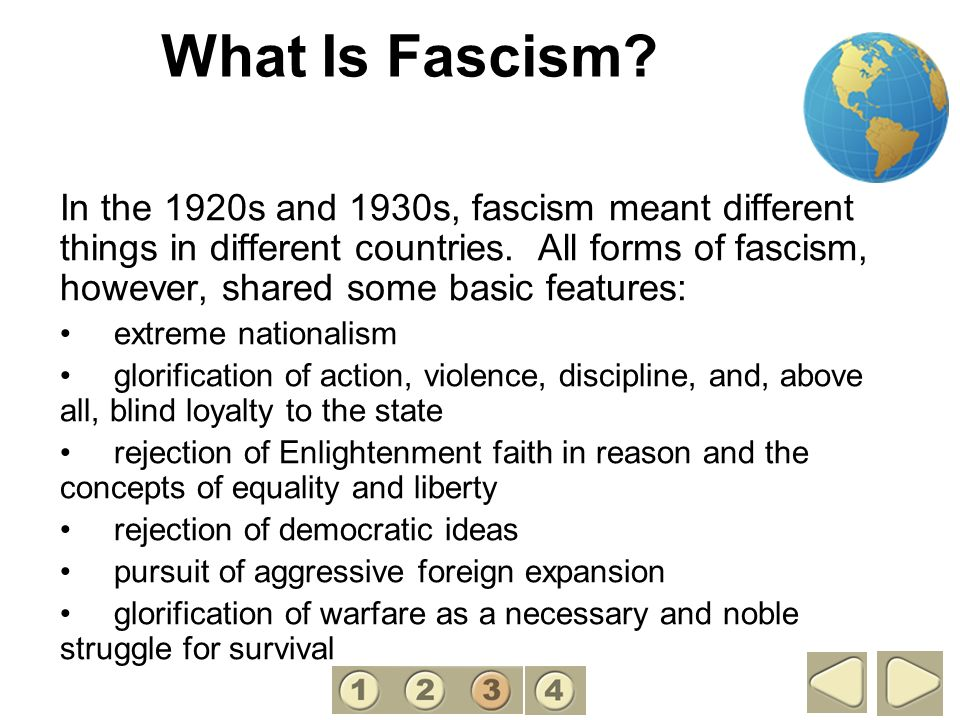 What Is Fascism 3.
