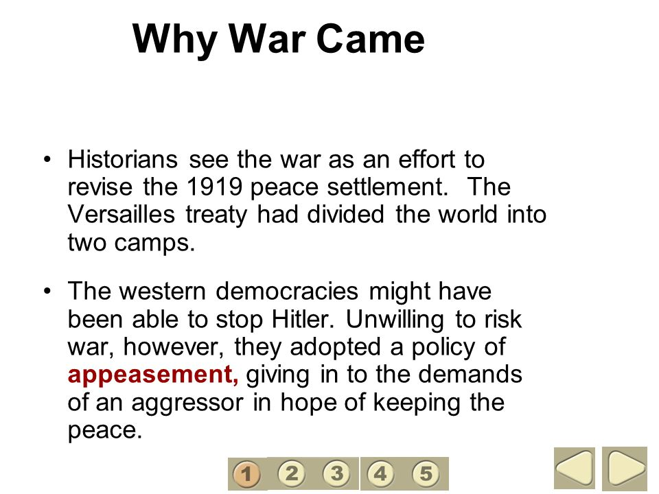 Why War Came 1.