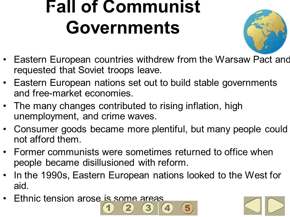 Fall of Communist Governments