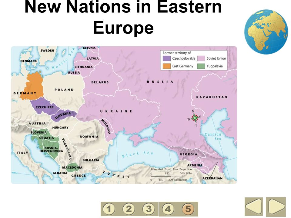 New Nations in Eastern Europe