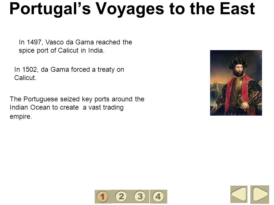 Portugal's Voyages to the East