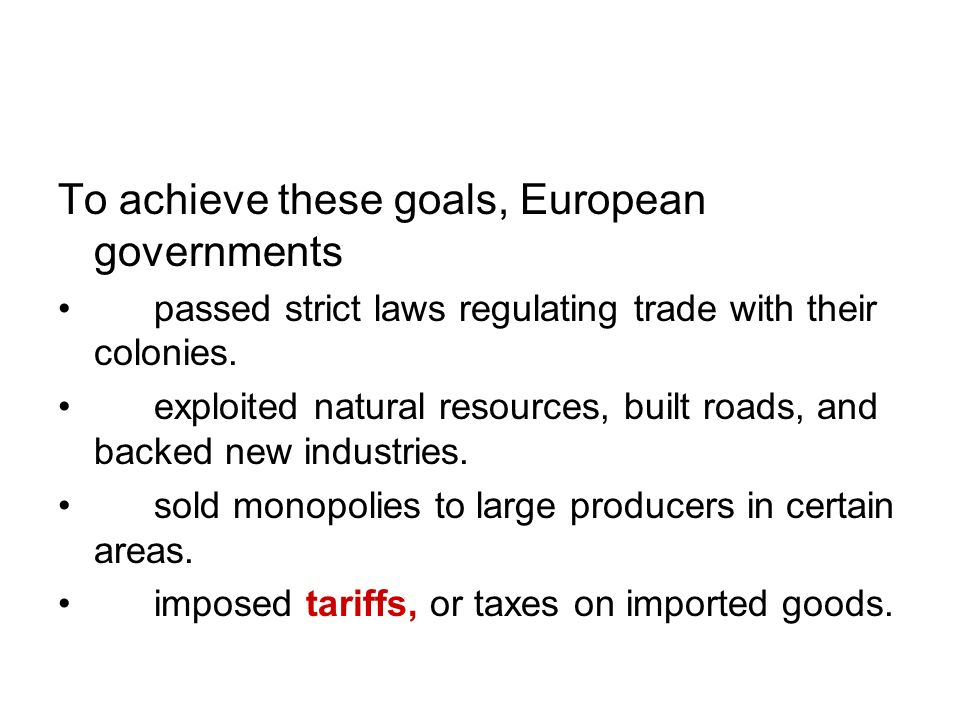 To achieve these goals, European governments