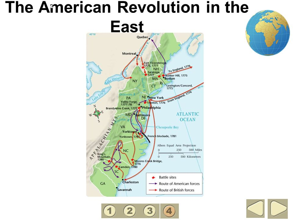 The American Revolution in the East