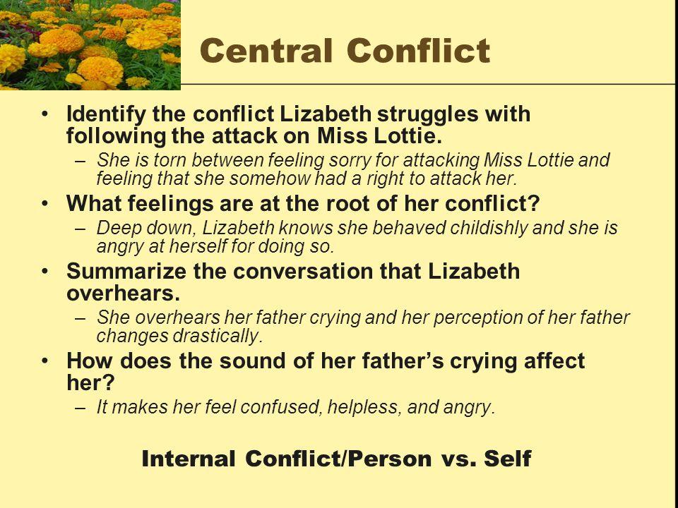 Internal Conflict/Person vs. Self
