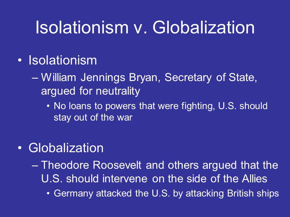 Isolationism v. Globalization