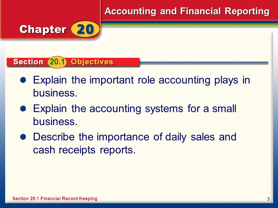 Explain the important role accounting plays in business.