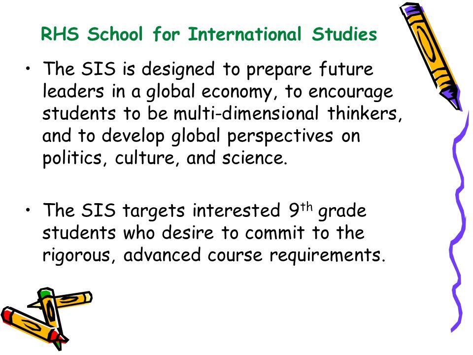 RHS School for International Studies