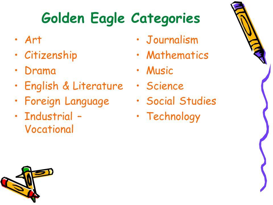 Golden Eagle Categories