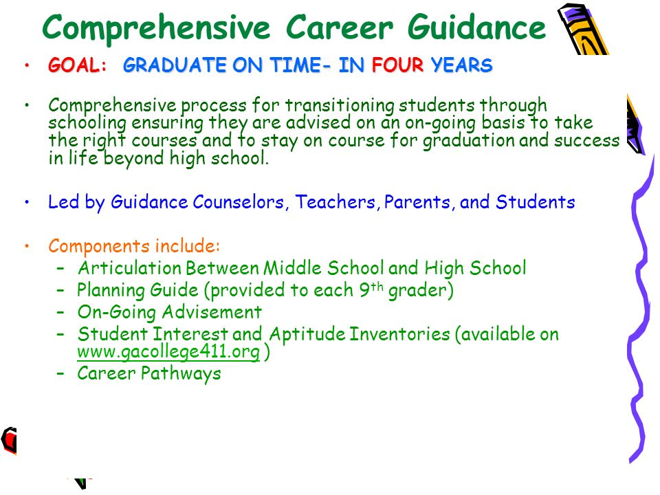 Comprehensive Career Guidance