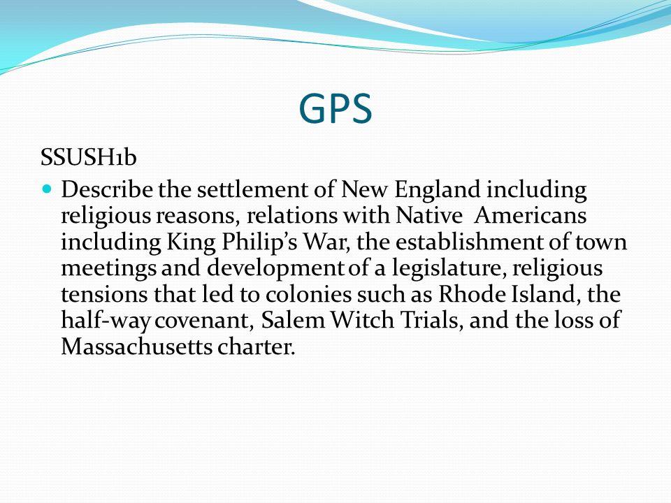 GPS SSUSH1b.