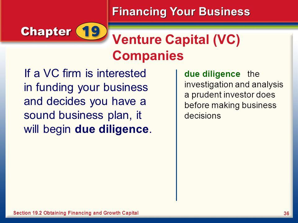Venture Capital (VC) Companies