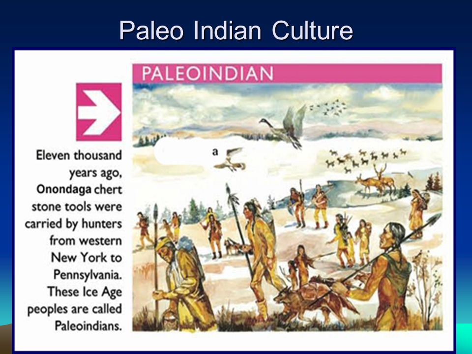Paleo Indian Culture