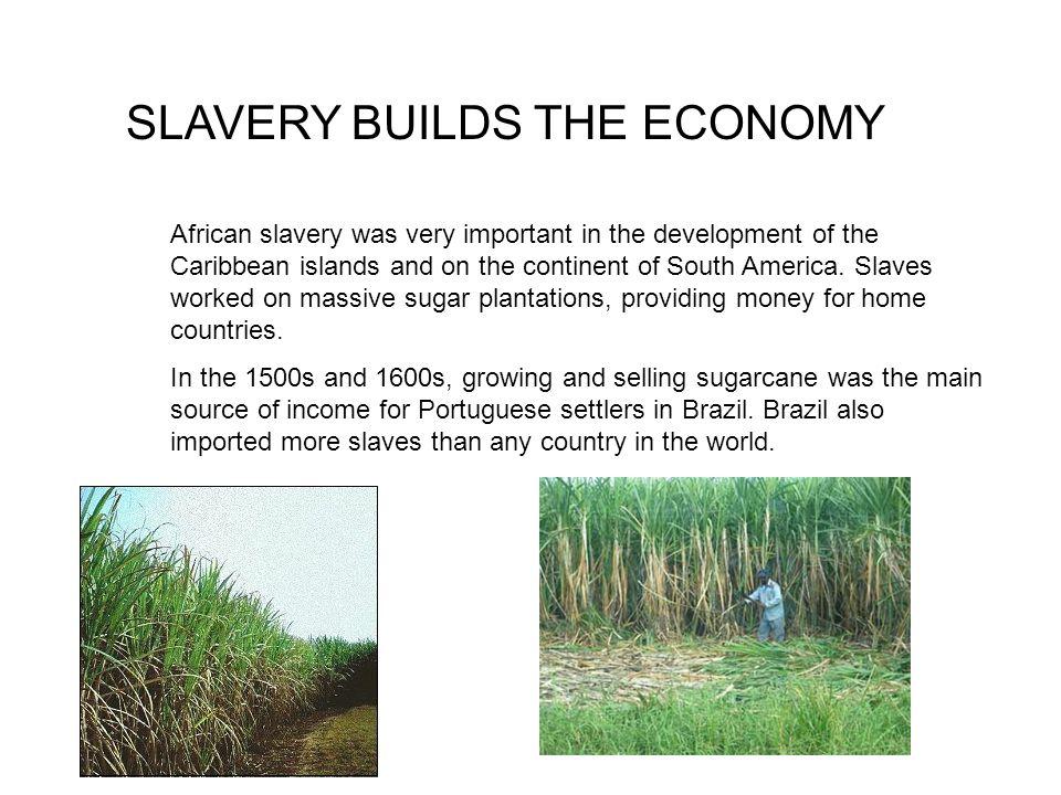 SLAVERY BUILDS THE ECONOMY