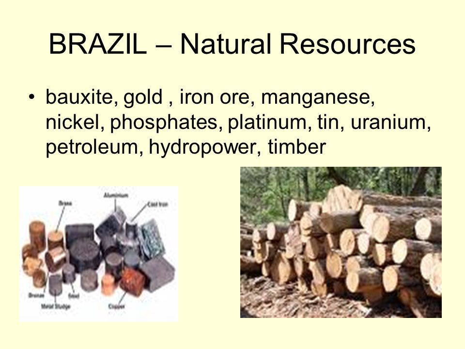 BRAZIL – Natural Resources
