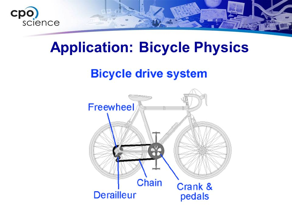Application: Bicycle Physics