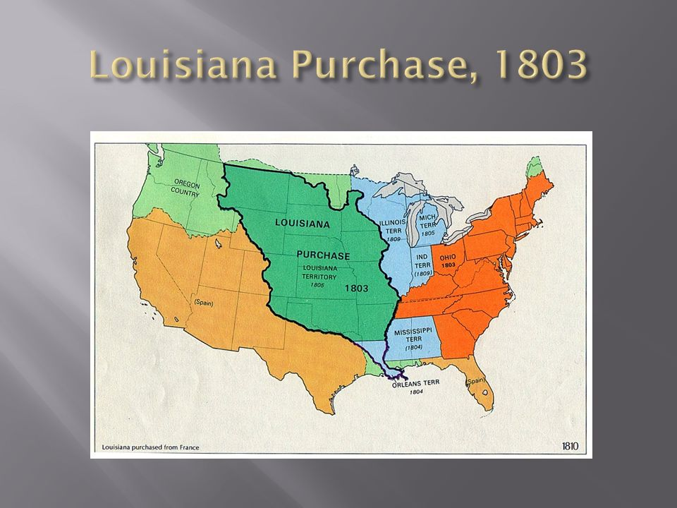 Louisiana Purchase, 1803