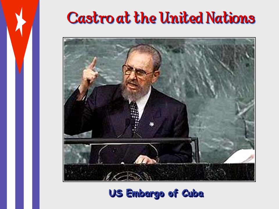 Castro at the United Nations