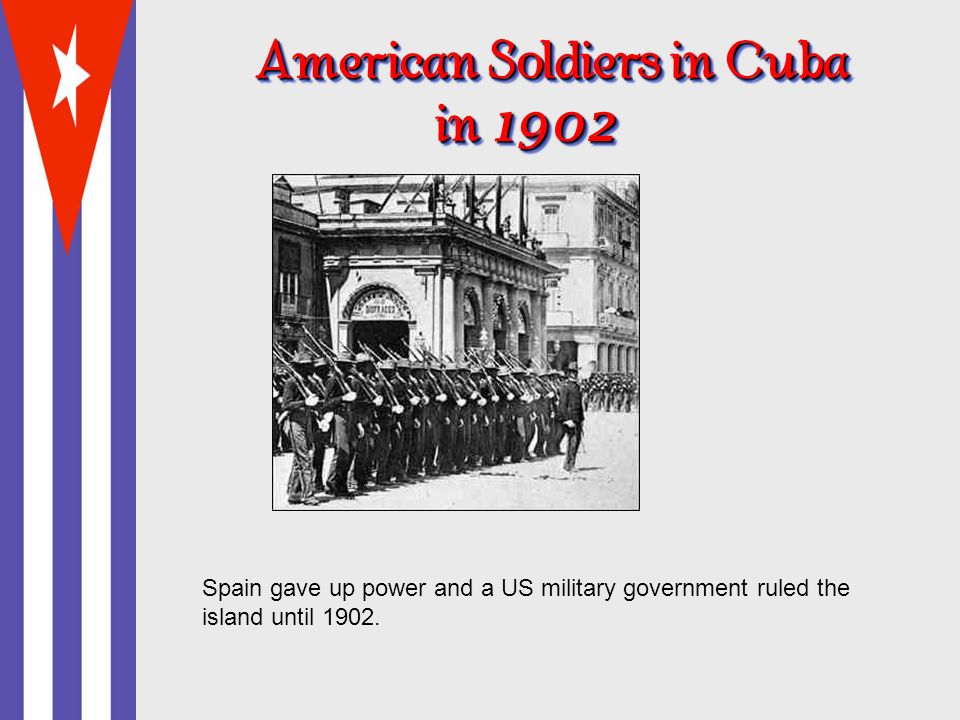 American Soldiers in Cuba in 19022