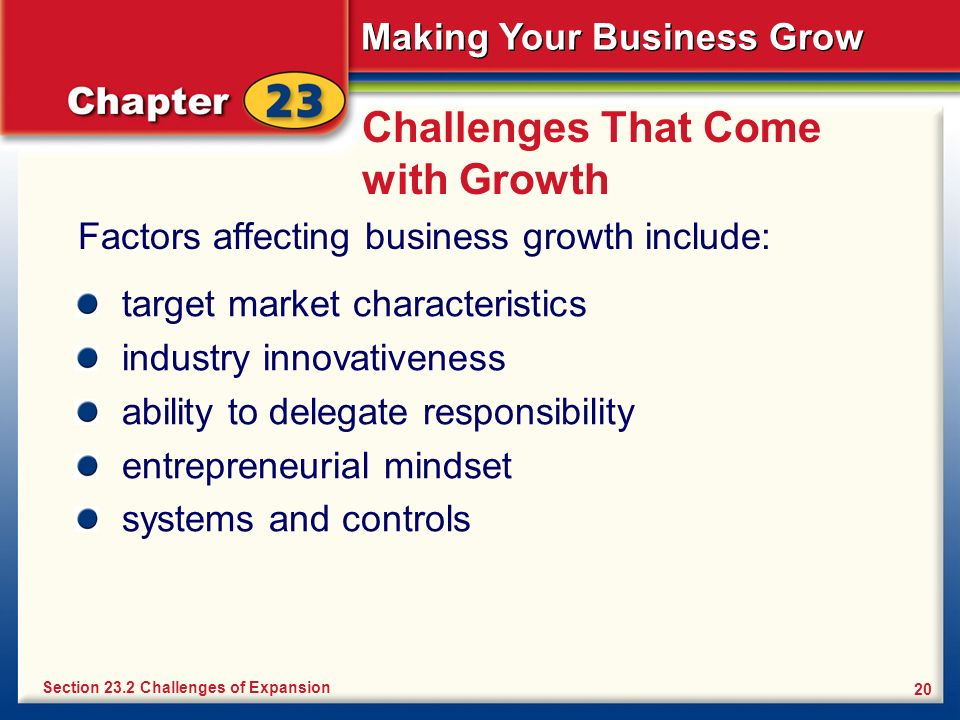 Challenges That Come with Growth