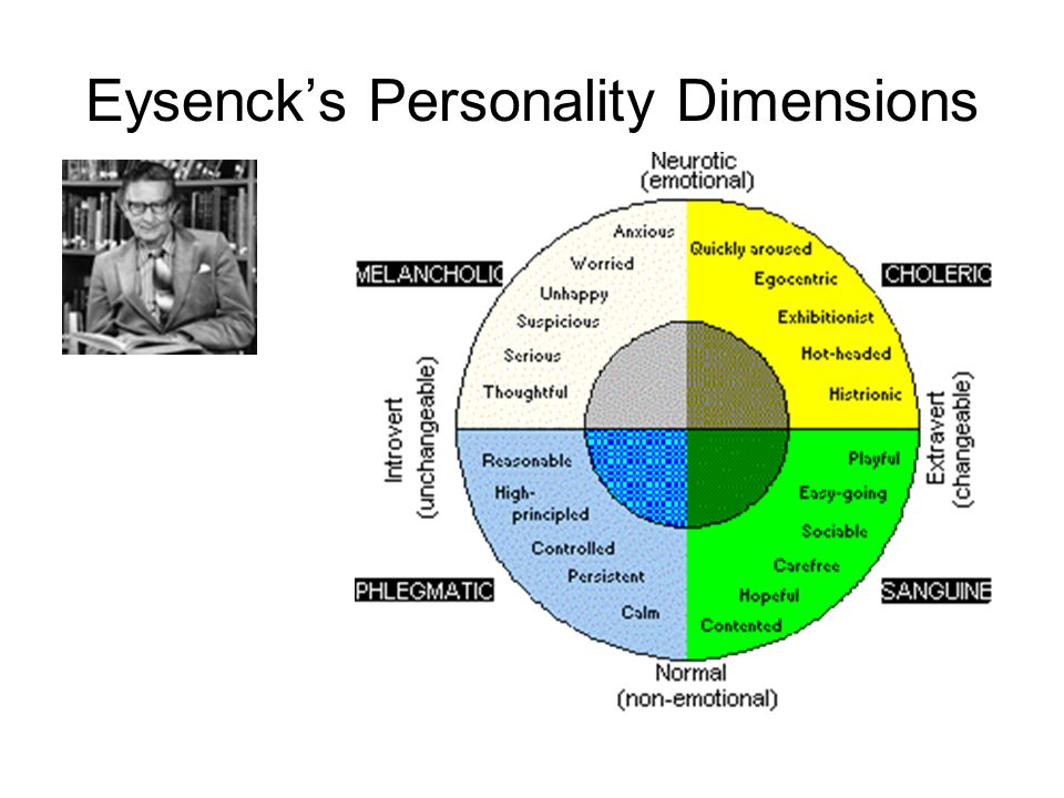 Eysenck's Personality Dimensions