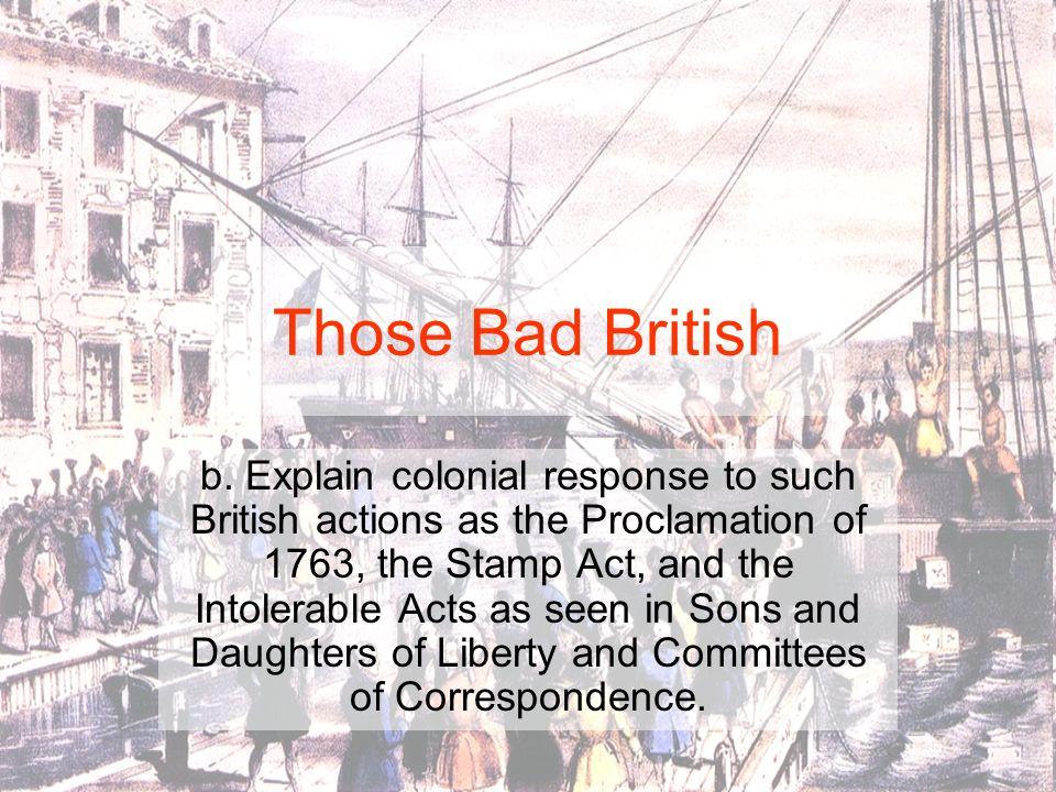 Those Bad British