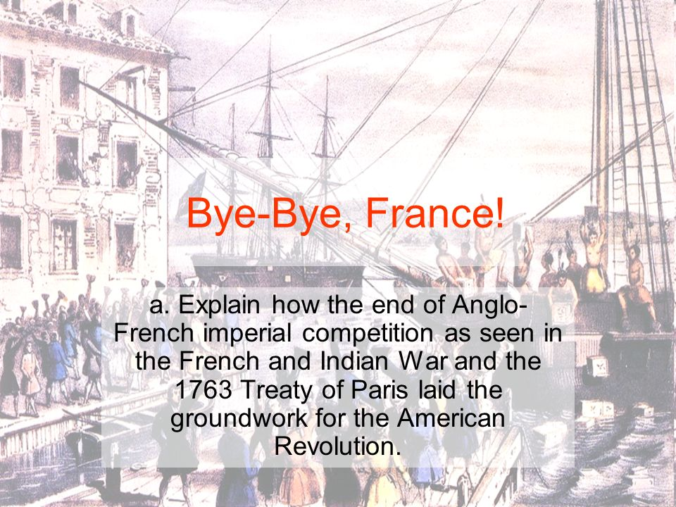 Bye-Bye, France!