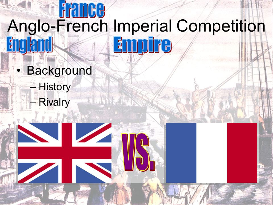 Anglo-French Imperial Competition