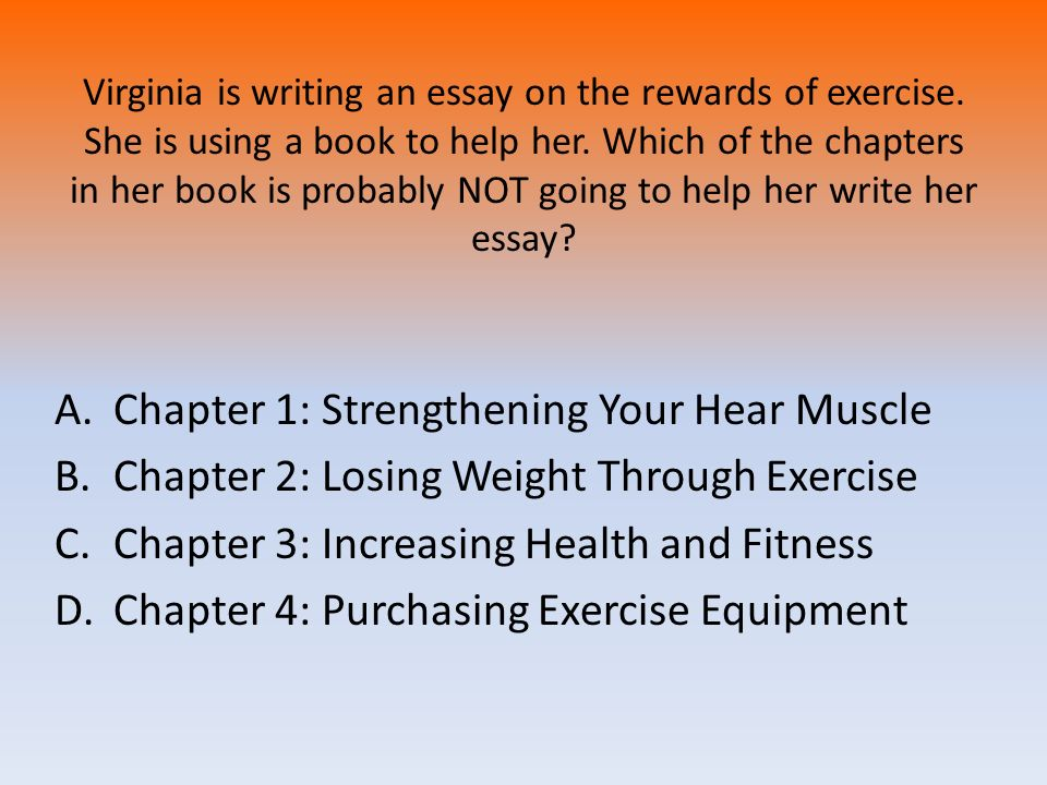 Chapter 1: Strengthening Your Hear Muscle
