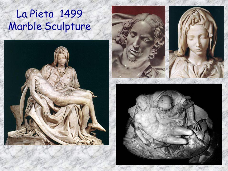 La Pieta 1499 Marble Sculpture