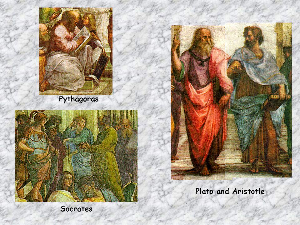 Pythagoras Plato and Aristotle Socrates
